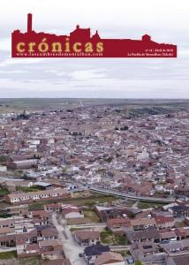 Portada del Número 41 de la revista Crónicas, el cual recoge un especial recorrido por los diferentes monumentos de La Puebla de Montalbán